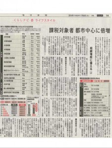 2014年7月8日(火)毎日新聞 朝刊14面(アイキャッチ用)